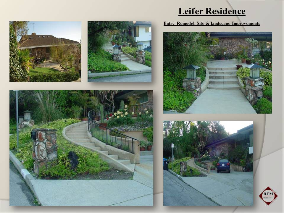 Slide53-Residential-Entry & landscaping